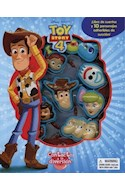 Papel TOY STORY 4 CONTACTO A LA DIVERSION (10 PERSONAJES DE SUCCION ADHERIBLE Y UN LIBRO DE CUENTOS)