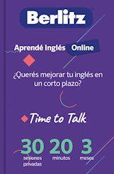 Libro Curso Time To Talk Aprende Ingles Online