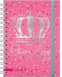 Libro Agenda 2020 Cool Love Queen Love - 2 Dias X Pagina