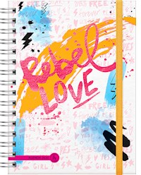 Libro Agenda 2020 Cool Love Rebel Love - 2 Dias X Pagina