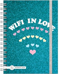 Libro Agenda 2020 Cool Love Wifi Love - 2 Dias X Pagina