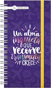 Libro Agenda 2020 Mc Pocket Inquieta Violeta
