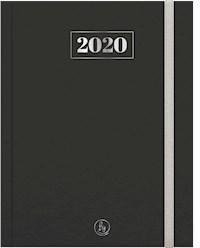 Libro Agenda 2020 Premium 15X21 Black