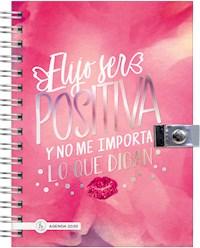 Libro Agenda 2020 Shine 15X21 Positiva Pink Shine