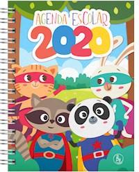 Libro Agenda 2020 Escolar 15X21 Animales