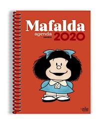 Libro Agenda 2020 Mafalda Anillada Rojo