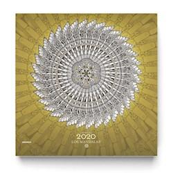 Libro Calendario 2020 Mandalas De Pared