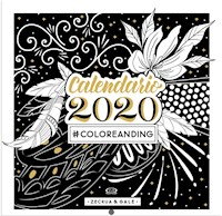 Libro Calendario 2020 #Coloreanding