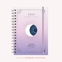 Libro Agenda 2020 Lunar A5 Bruja Moderna Atardecer 2 Dias Por Hoja