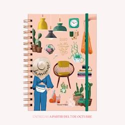 Libro Agenda 2020 A5 Happimess Mi Tiempo Es Oro 2 Dias Por Hoja