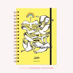 Libro Agenda 2020 A5 Happimess Vuela Libre Semana A La Vista