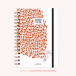 Libro Agenda 2020 A5 Tute Amor Semana A La Vista