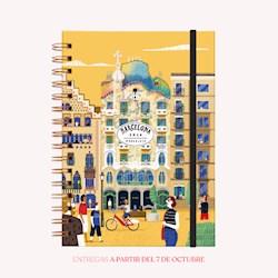 Libro Agenda 2020 A5 De Viaje Barcelona Semana A La Vista