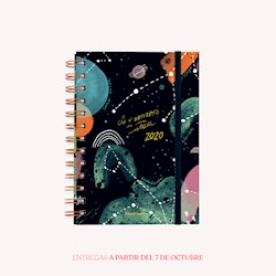 Libro Agenda 2020 Pocket Happimess El Universo En Una Estrella Semana A La Vista