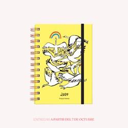 Libro Agenda 2020 Pocket Happimess Vuela Libre Semana A La Vista