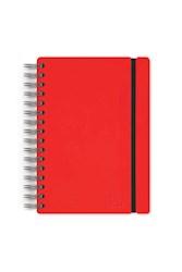 Libro Agenda 2020 A5 Diaria Studio Rojo