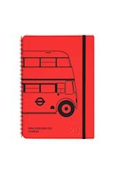 Libro Agenda 2020 A5 Semanal Plein Air London Bus