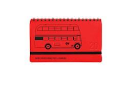 Libro Agenda 2020 Pocket Plein Air London Bus