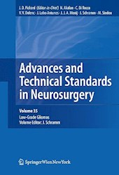 Papel Advances And Technical Standards In Neurosurgery: Low-Grade Gliomas Vol.35