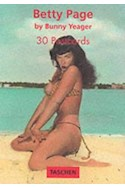 Papel BETTY PAGE BY BUNNY YEAGER 30 POSTCARDS
