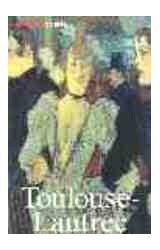 Papel TOULOUSE-LAUTREC-MINILIBROS DE ARTE