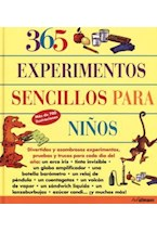 Papel 365 EXPERIMENTOS SENCILLOS PARA NIÑOS