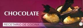 Papel CHOCOLATE RECETARIO DE COCINA (CARTONE)