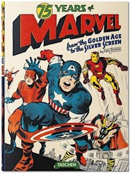 Papel 75 Years Of Marvel Comics: From The Golden Age To The Silver Screen