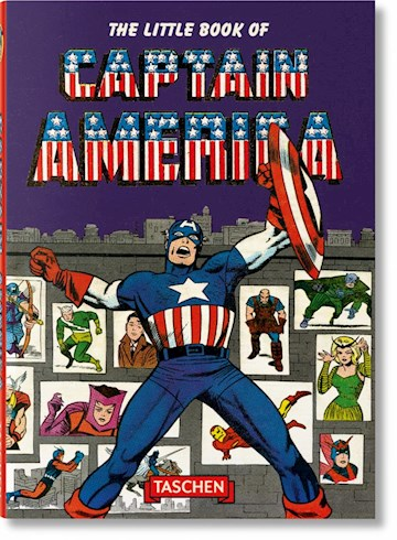 Papel The Little Book Of Captain America