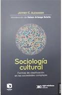 Papel SOCIOLOGIA CULTURAL FORMAS DE CLASIFICACION EN LAS SOCIEDADES COMPLEJAS