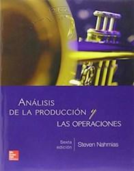 Libro Analisis De La Produccion Y Las Operaciones