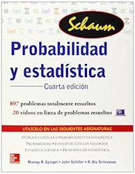 Libro Probabilidad Y Estadistica  (Serie Schaums)