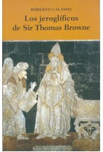 Papel LOS JEROGLIFICOS DE SIR THOMAS BROWNE