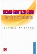 Papel DEMOCRATIZACION TEORIA Y EXPERIENCIA