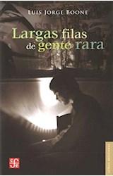 Papel LARGAS FILAS DE GENTE RARA (LETRAS MEXICANAS)