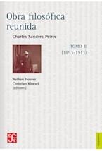 Papel OBRA FILOSOFICA REUNIDA TOMO II 1893-1913