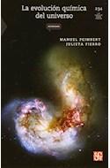 Papel EVOLUCION QUIMICA DEL UNIVERSO (COLECCION CIENCIA PARA TODOS 234)