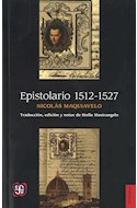 Papel EPISTOLARIO 1512-1527 (COLECCION HISTORIA)
