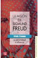 Papel MISION DE SIGMUND FREUD SU PERSONALIDAD E INFLUENCIA (PSICOLOGIA PSIQUIATRIA Y PSICOANALIS)