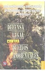 Papel DEFENSA LEGAL CONTRA DELITOS AMBIENTALES