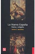 Papel NUEVA ESPAÑA PATRIA Y RELIGION (COLECCION HISTORIA)