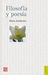 Libro Filosofia Y Poesia