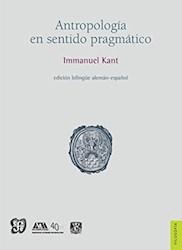 Libro Antropologia En Sentido Pragmatico