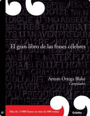 E-book El Gran Libro De Las Frases Celebres