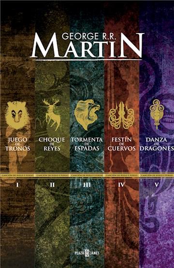 E-book Paquete Digital Canción De Hielo Y Fuego (5 Libros) (Canción De Hielo Y Fuego)
