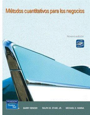 E-book Métodos Cuantitativos Para Los Negocios