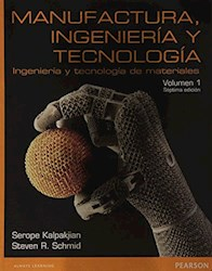 Libro 1. Manufactura  Ingeniera Y Tecnologia