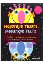 Papel MONSTRUO TRISTE MONSTRUO FELIZ UN LIBRO SOBRE SENTIMIENTOS