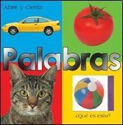Papel PALABRAS - ABRE Y CIERRA