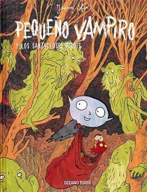 Papel Pequeño Vampiro Y Los Santacloses Verdes